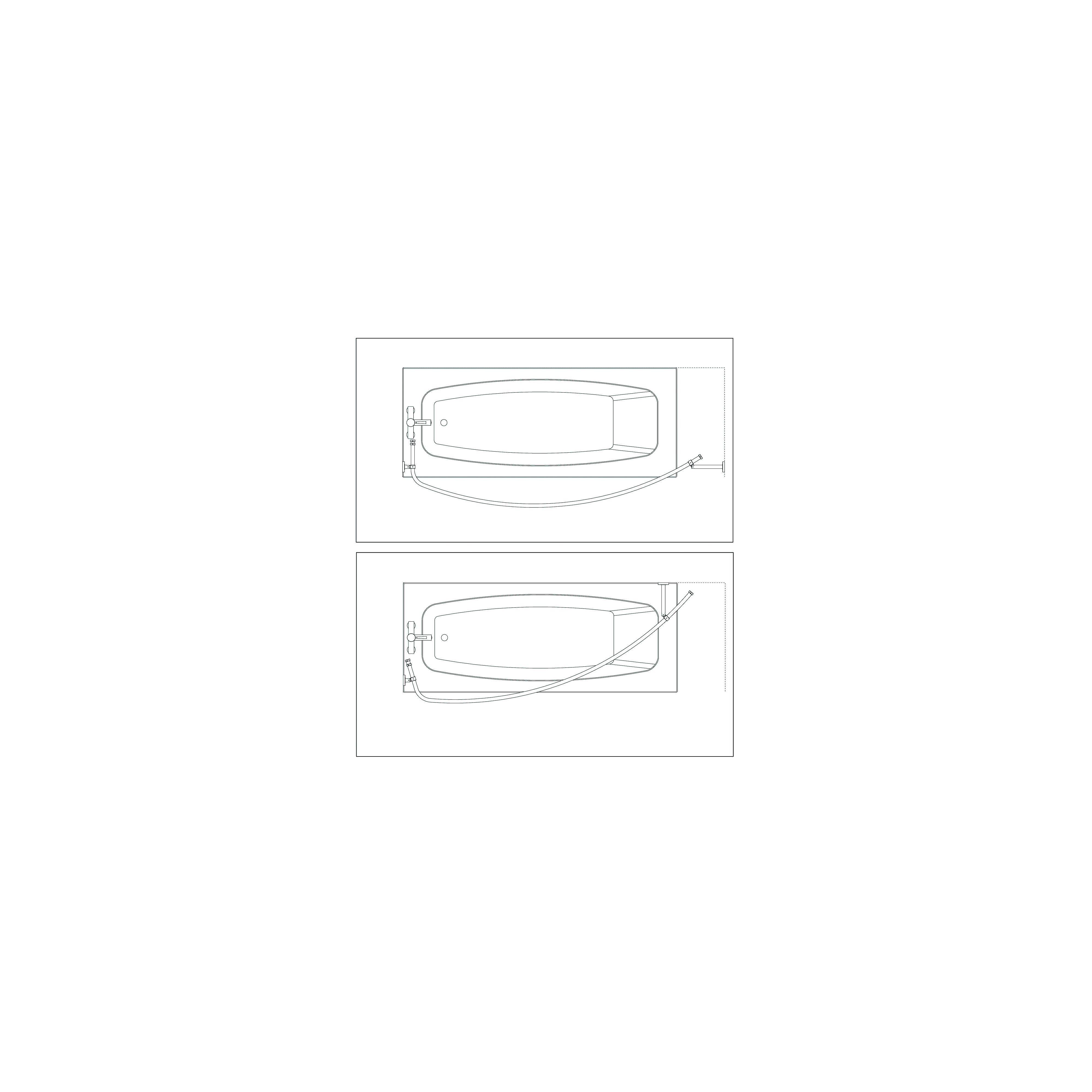 Croydex Luxury Curved Shower Curtain Rod