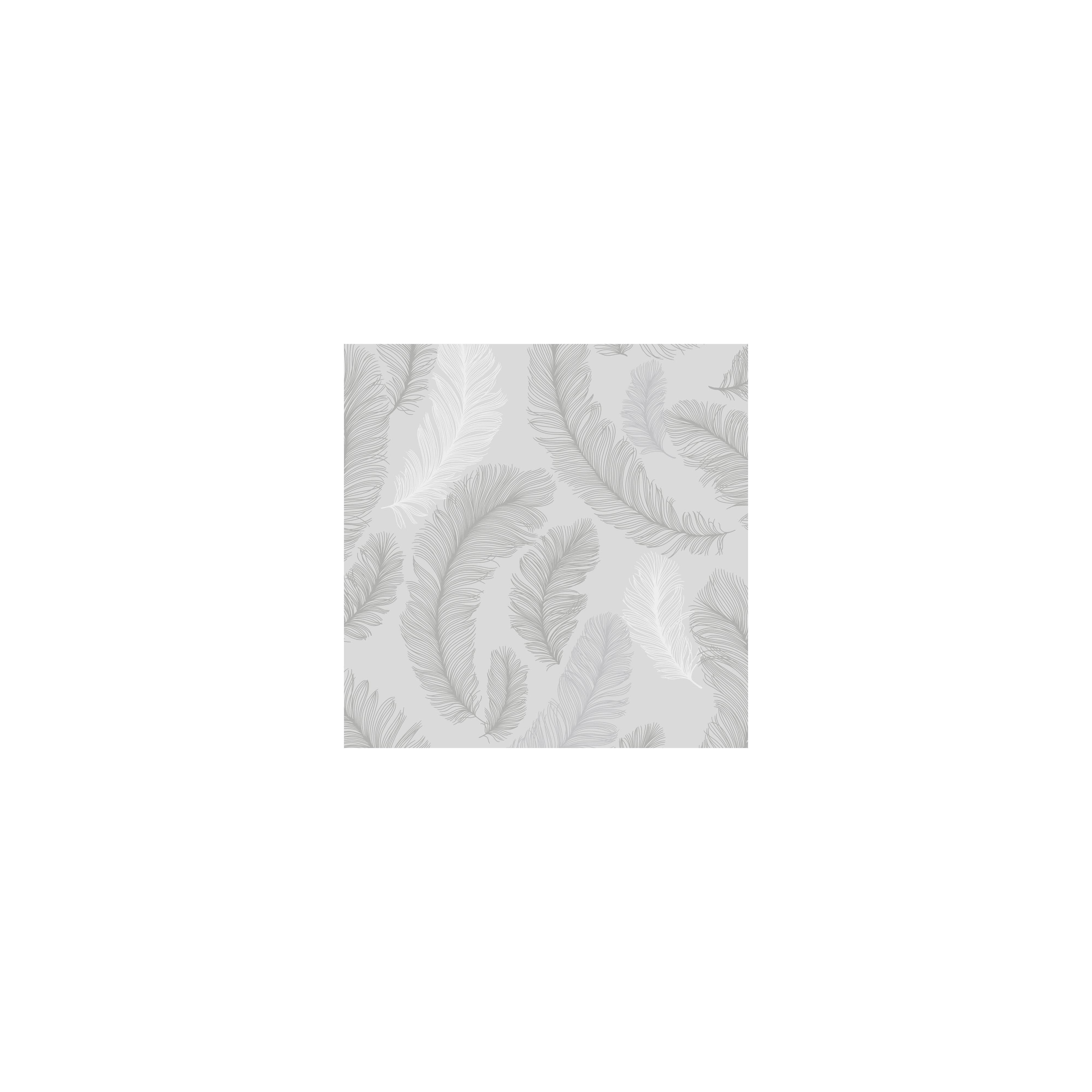Gran Deco Yasmine Grey Wallpaper