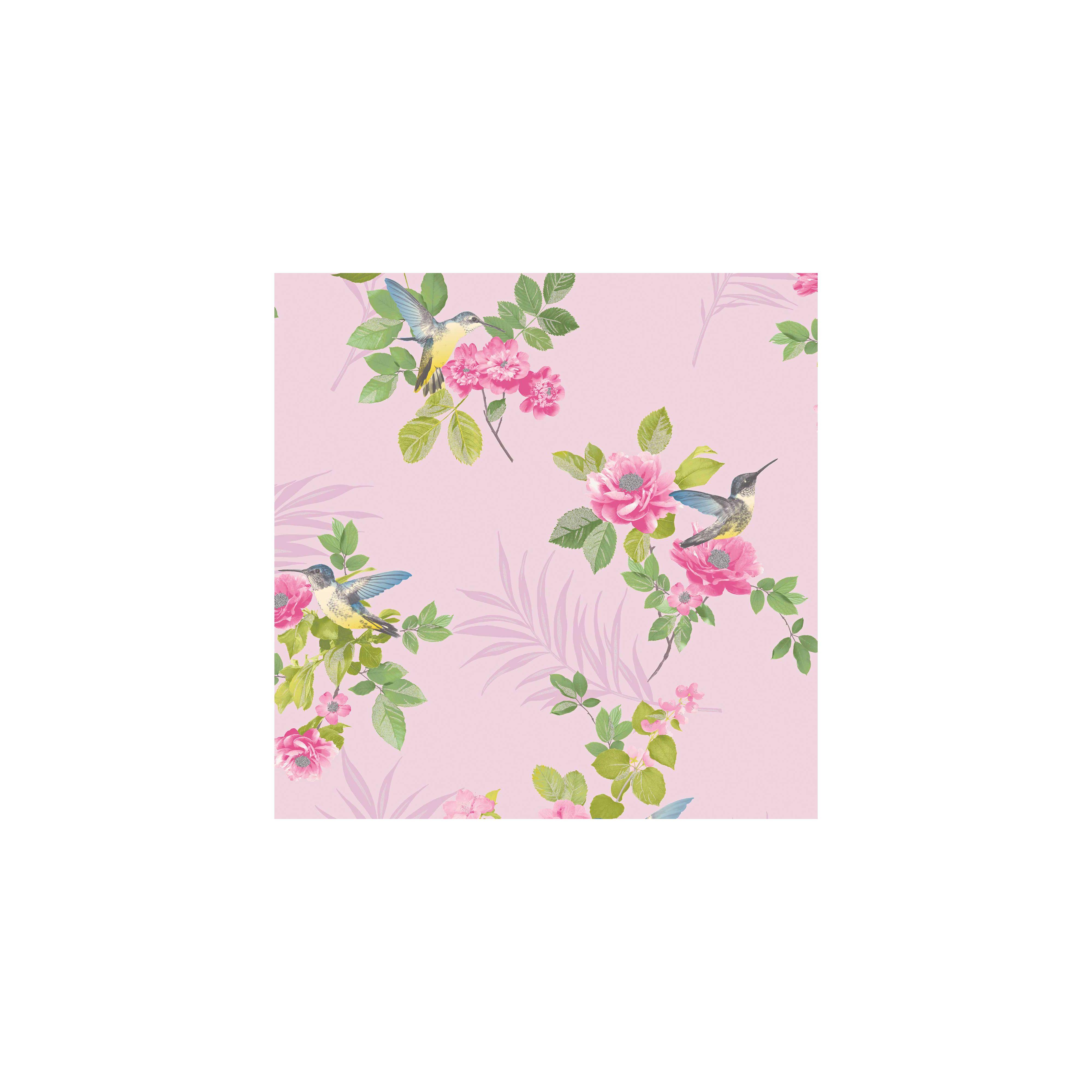 Fine Decor Marni Pink Wallpaper