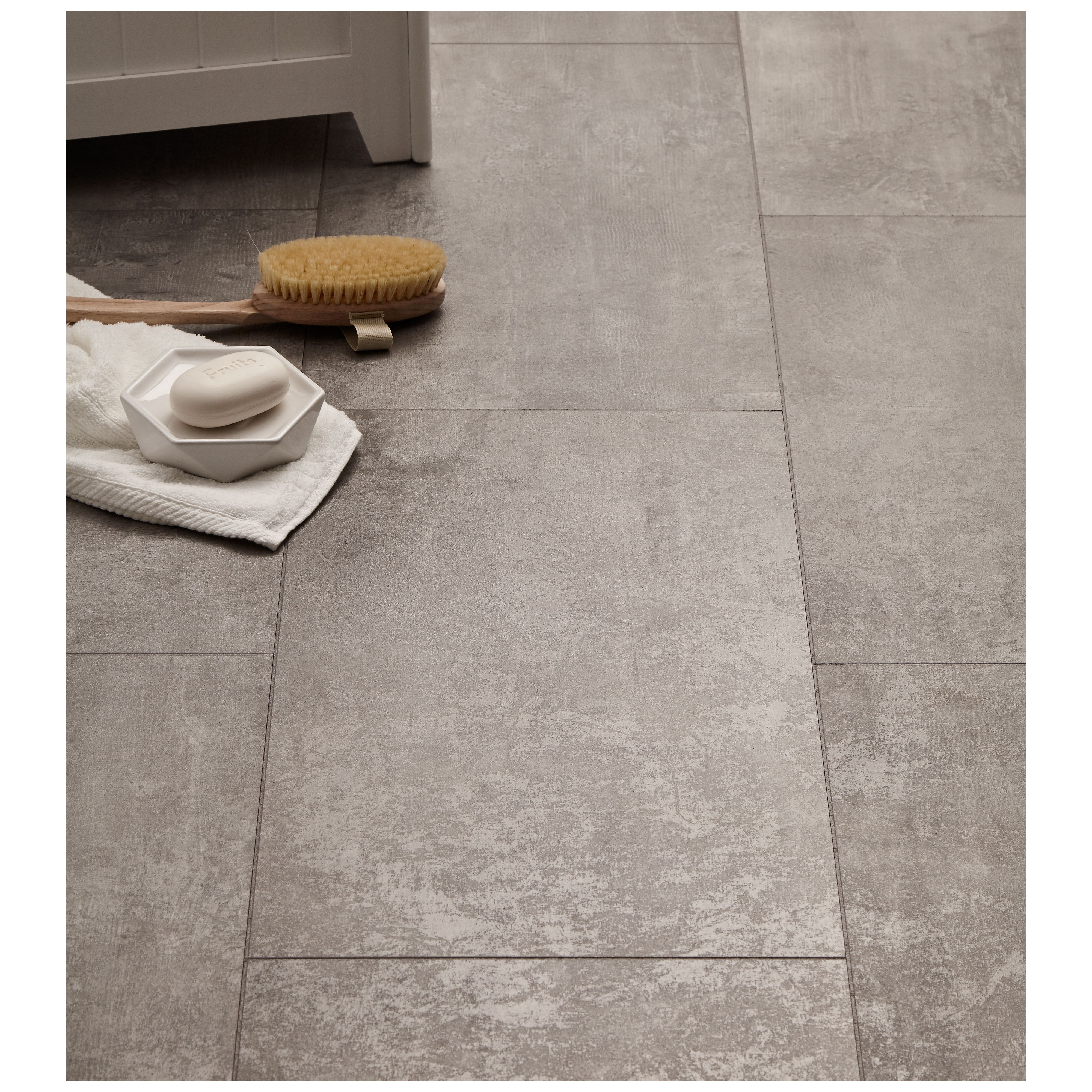 Laminae Concrete Tile Effect Laminate, Cement Effect Laminate Flooring