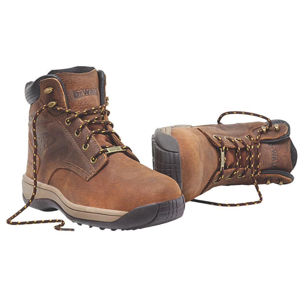 3a93ce25c90 DeWalt Bolster Safety Boots Cinder Size 8