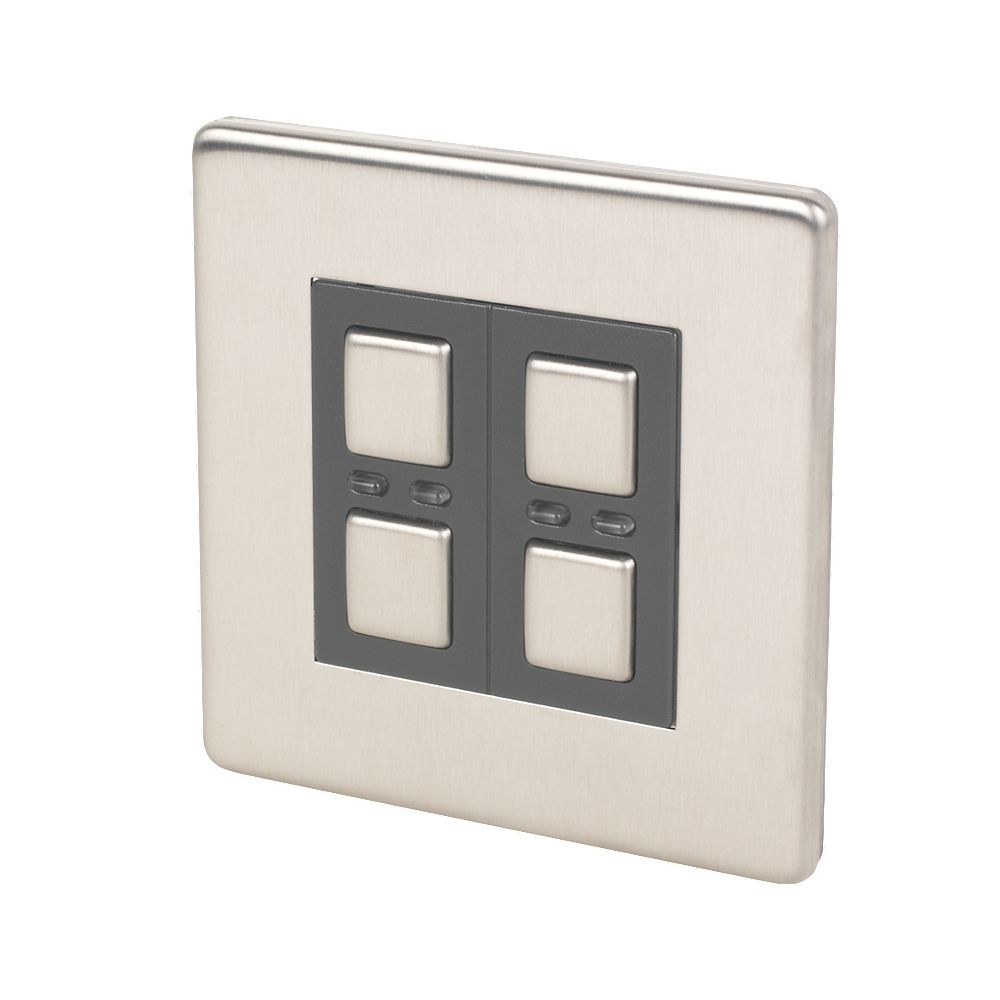 4 Way Switch Screwfix Everydiy Search Every Diy Store In The Uk Lightwaverf 2 Gang Slave Dimmer Stainless Steel
