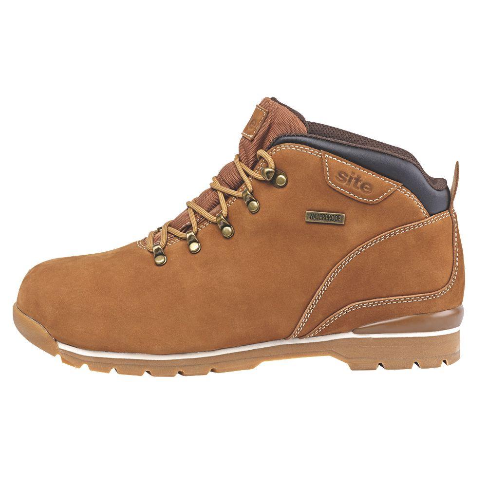 2dd7980d758 Site Meteorite Sundance Safety Boots Brown Size 10