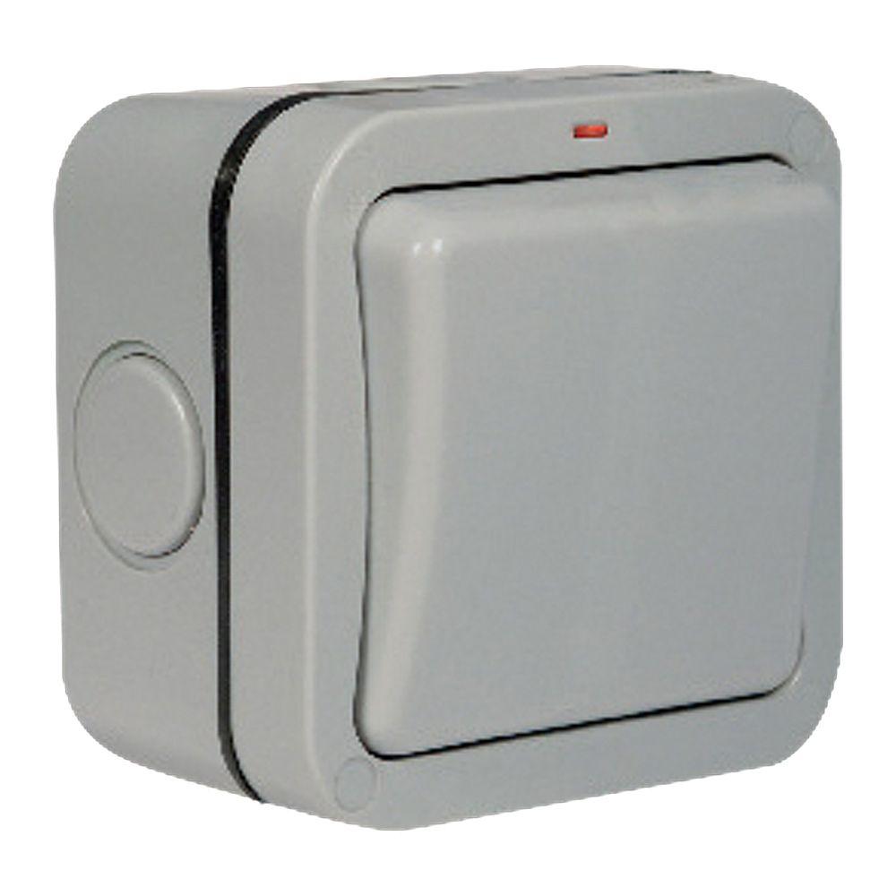 Masterplug IP66 20A Double Pole Switch 1 Gang WP30