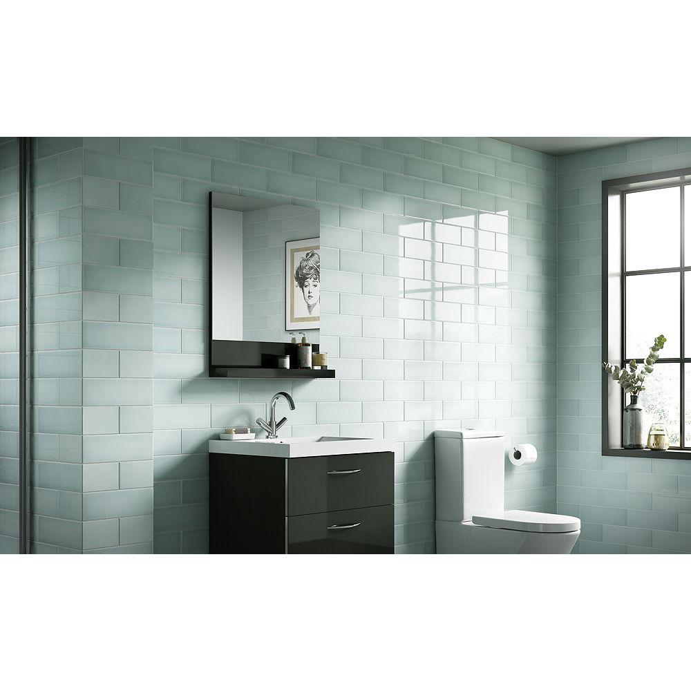 Wickes Soho Oat Ceramic Tile 300 x 100mm