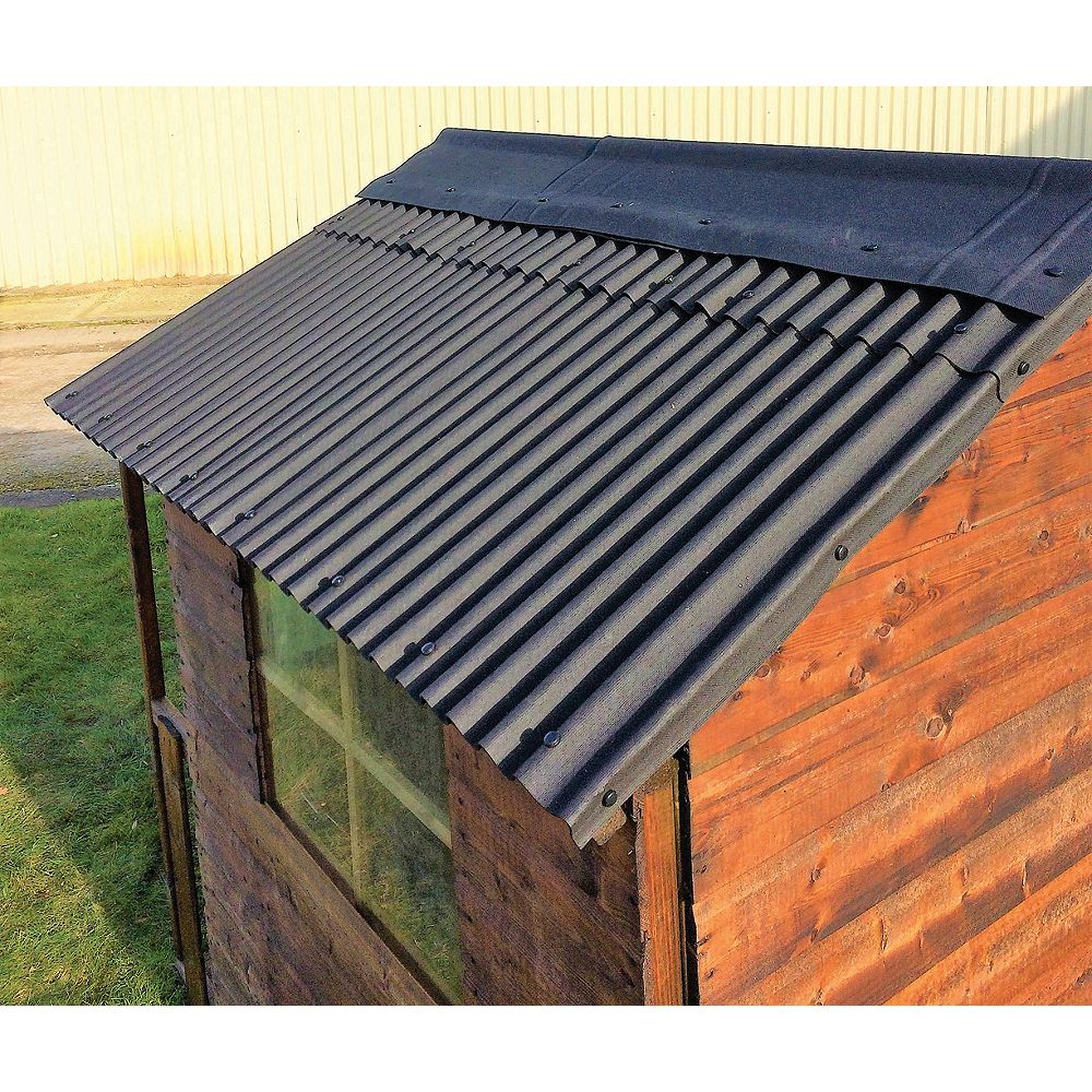 Watershed Roofing Kit For 6 X 10ft Apex Roof Wa14 400 424