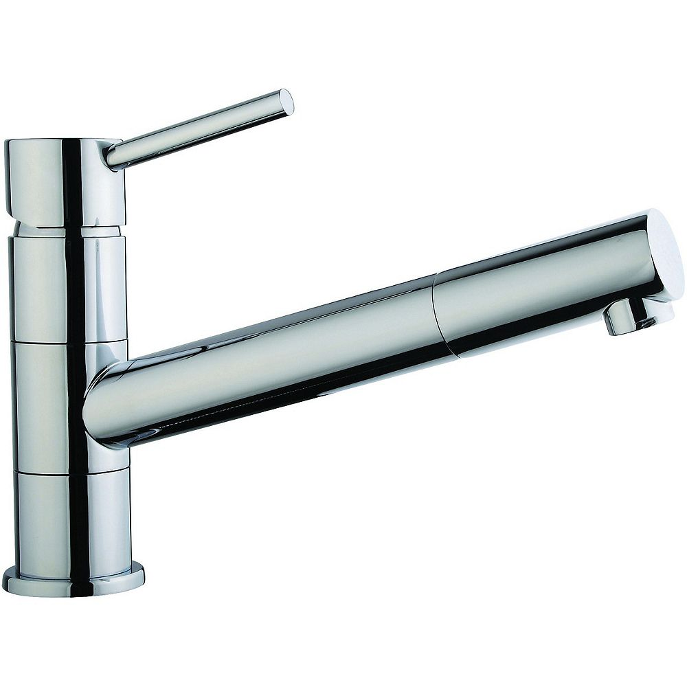 Wickes Tuya Pullout Kitchen Sink Tap Chrome