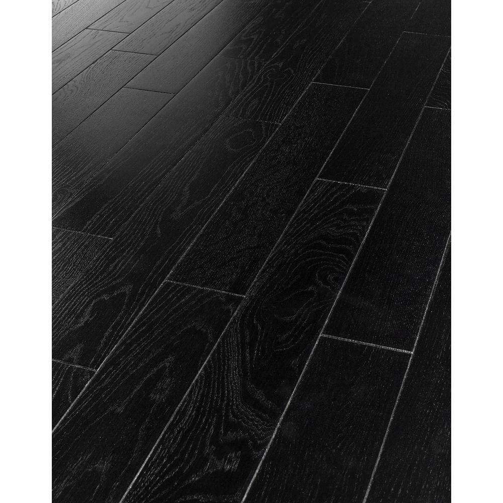 Westco Herringbone Black Oak Real Wood Top Layer Engineered Flooring