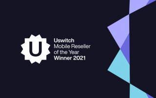 Uswitch Mobile Reseller of the Year Winner 2021