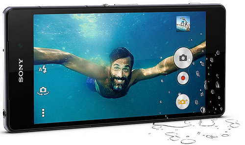 4K Resolution on the Sony Xperia Z2's camera