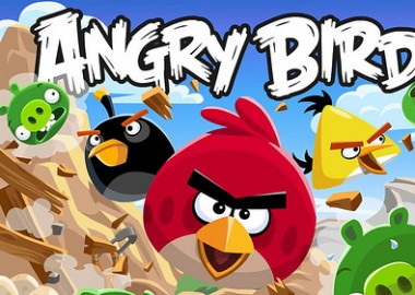 Of the top 5 smartphone games, Angry Birds is number one!