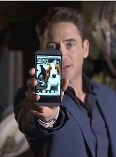 Robert Downey Junior HTC One M8