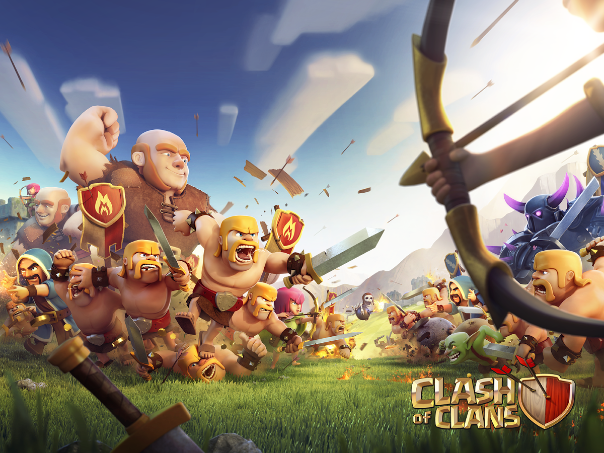 The popular Clash of Clans game offers many in-app purchases