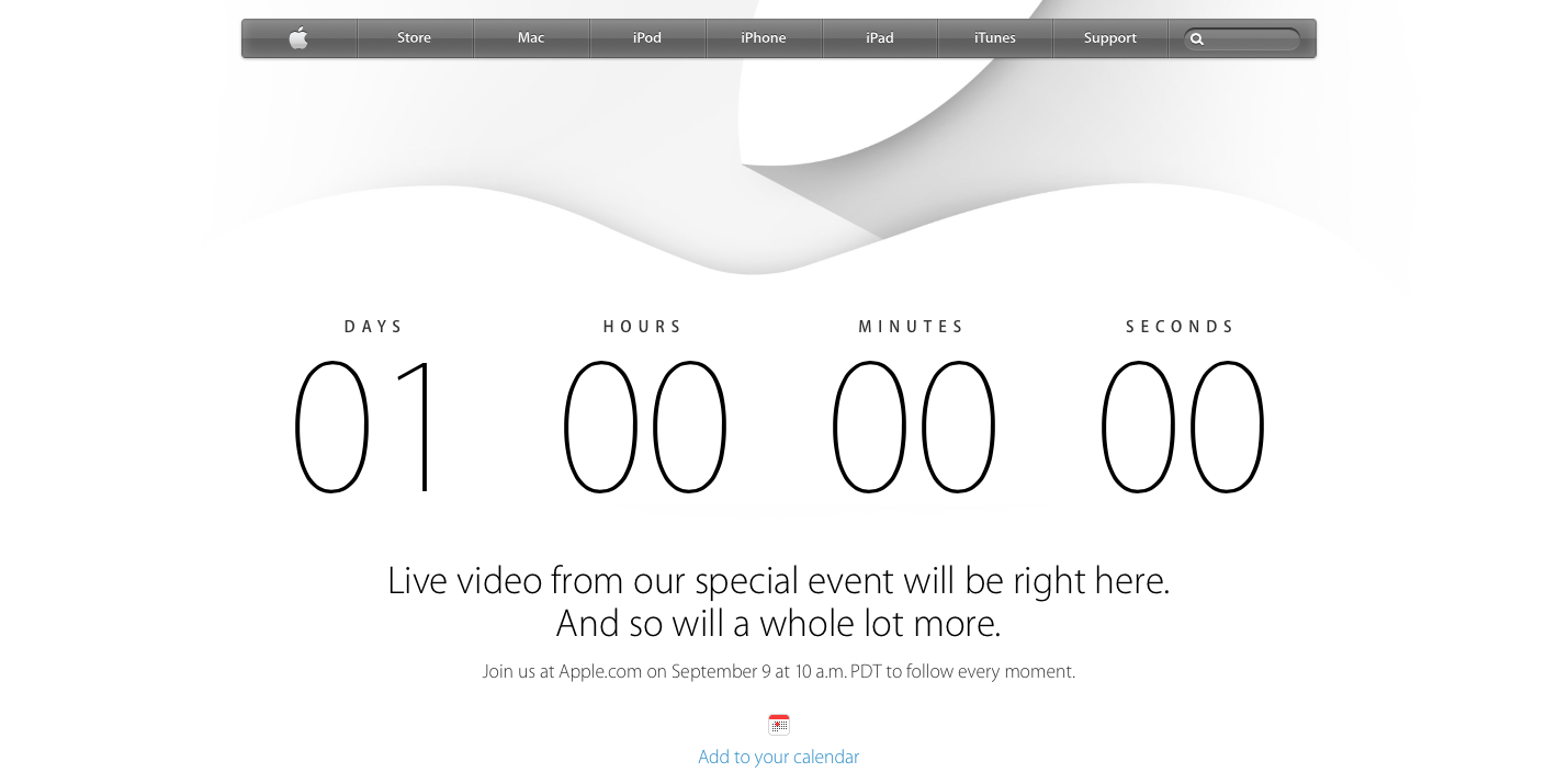 Apple Event - iPhone 6