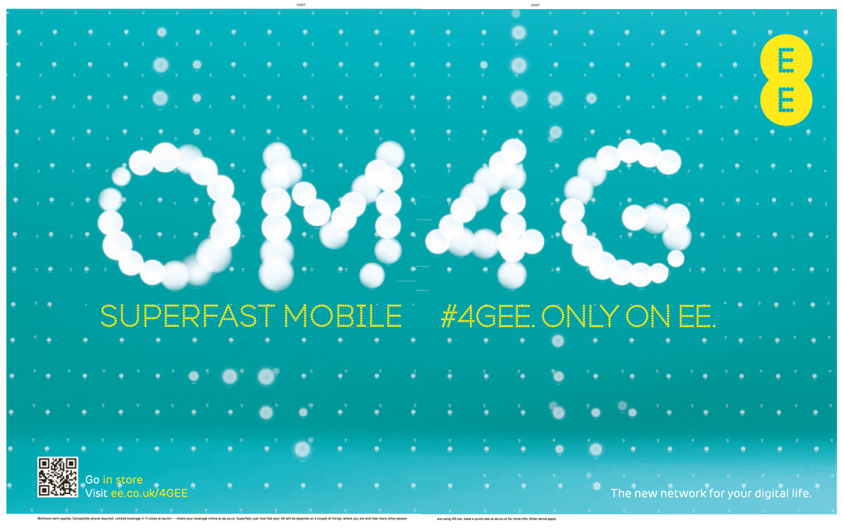 EE - the UK's first 4G network