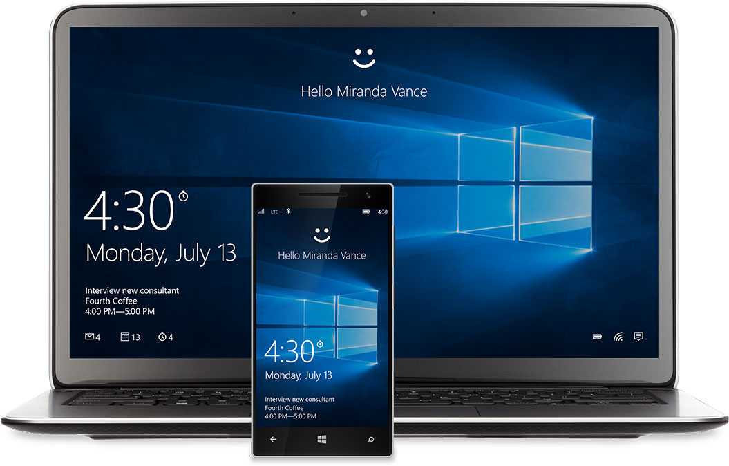 Windows 10 for mobile and desktop