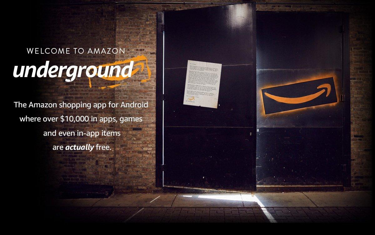 Amazon Underground promotion