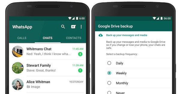 Guiide on how to back up your WhatsApp messages to Google Drive