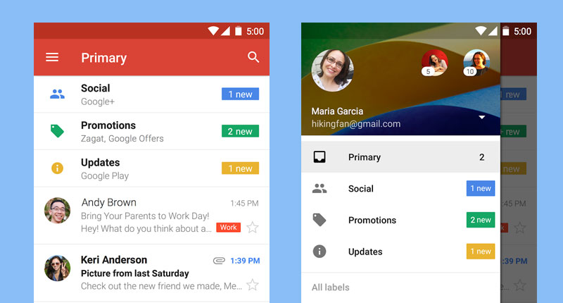 How to set up an email account on your Android phone