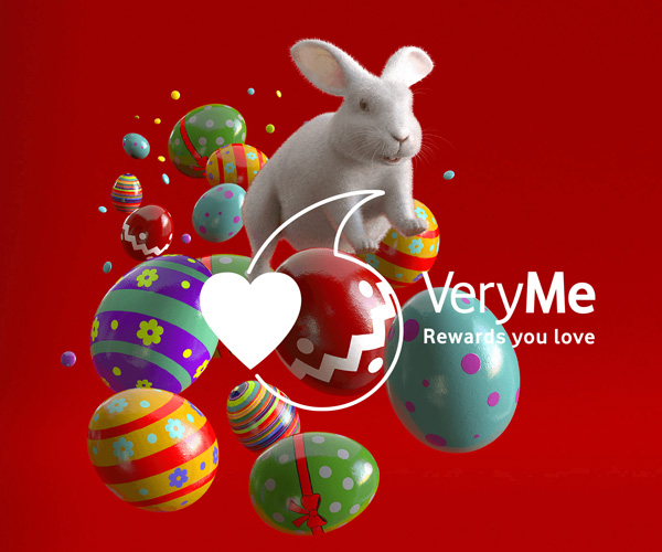 Vodafone is treating customers with these Easter goodies