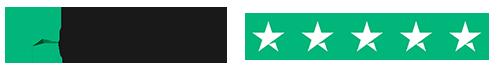 5 Stars on Trustpilot