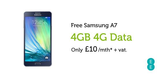 Samsung A7 £10