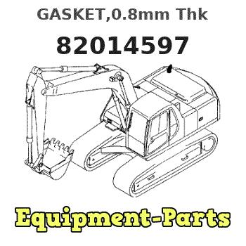 New Holland Gasket Part # 82014597