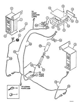 1840) - CASE UNI-LOADER SKID STEER LOADER (1/89-12/01) (04) - ELECTRICAL  SYSTEMS Case ConstructuionAVSpare.com