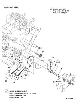 Case IH 8520 /& 8530 Rectangular Baler Parts Manual