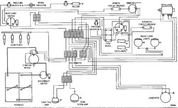 wiring diagram--24 volt system serial no. 62k1 to 62k2466 inclusive 920  wheel loader | avspare.com  avspare.com