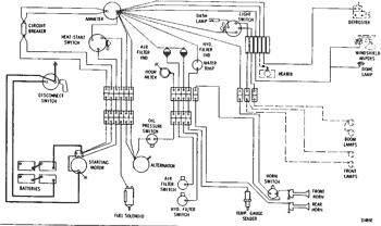 wiring diagram--24 volt system 225 excavator   avspare.com  avspare.com