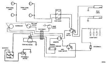 WIRING DIAGRAM--24 Volt System Serial No. 80H5189-Up 941 TRACK LOADER |  AVSpare.comAVSpare.com