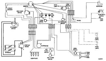 wiring diagram--24 volt system 215 excavator   avspare.com  avspare.com