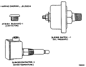 water alarm wiring diagrams for oil 3n9595 contactor group an attachment 3306 marine engine avspare com  an attachment 3306 marine engine