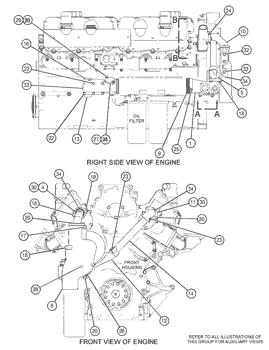 Genuine Caterpillar 4N1156 Gasket Engine 3406 C16 C11 C-10 3406E C-16 C15 C-15 C-18 3408B 3116 Truck 3406C 3408 3406B