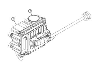 Teile Nummer n Ref : 957E9282A Pipe Dexta Tank To Pumpe