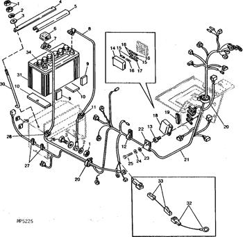 CH20154 John Deere Wiring Harness :: AVS.PartsAVS.Parts