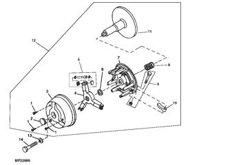 John Deere Original Equipment Plug #M118898