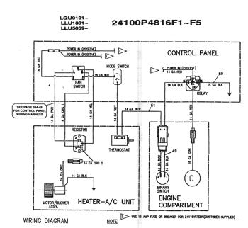 sk220) - mark iv excavator asn lqu0101 (1/95-12/00) (05-018[10]) - air  conditioner kit installation (red dot r-1550) kobelco  avspare.com