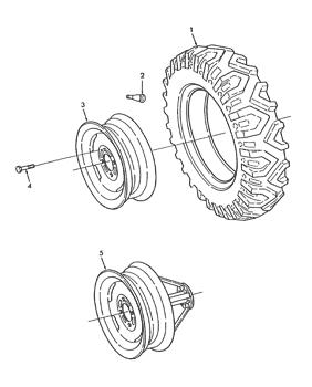 E16592 CNH Genuine OEM Wheel Bolt