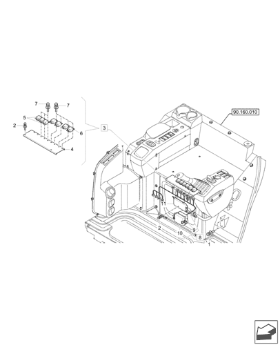 house fuse box parts cx33c  mini crawler excavator  canopy tier 4  2 17    55 100  cx33c  mini crawler excavator  canopy