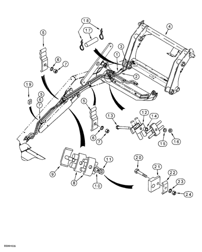 BGA SJ2502 Suspensi/ón y chasis