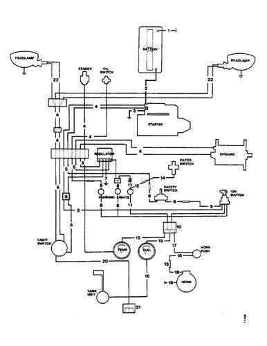 990) - david brown selectamatic tractor (1/71-12/76) (m26 ...  avspare.com