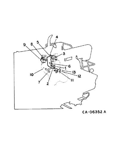 circuit diagram engine schematic 1440  case ih axial flow combine  north america   1 77 12 84  1440  case ih axial flow combine