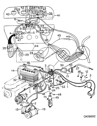 [DIAGRAM_1CA]  574) - INTERNATIONAL SERIES-A TRACTOR (NORTH AMERICA) (1/70-12/77) (08-20)  - ELECTRICAL, BASIC DIESEL ENGINE TRACTOR WIRING, 574 TRACTORS WITH SERIAL  NO. 114909 AND ABOVE Case Agriculture | Ih 574 Wiring Harness |  | AVSpare.com