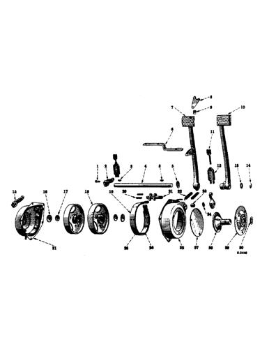 SPAREX® Bremsyzlinder für Case IH® D120835 OEM-Ref Nr.