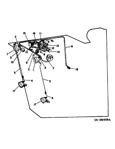 1420) - INTERNATIONAL HARVESTER COMBINE (NORTH AMERICA) (1/81-12/82)  (13-18) - SUPERSTRUCTURE, WIRING DIAGRAM, OPERATORS CAB Case AgricultureAVSpare.com