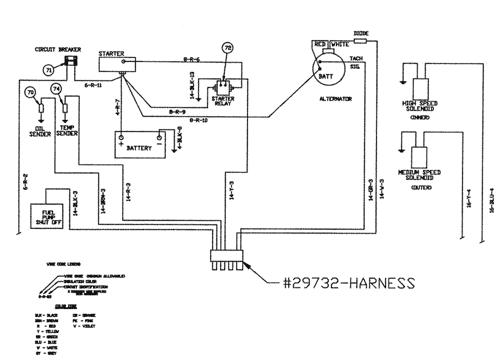 scamat engine wiring harness patriot ii  sprayer  5 92 5 96   12 004 02   wiring schematic  patriot ii  sprayer  5 92 5 96   12