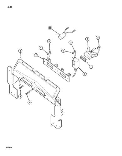 Case International 895 Wiring Diagram