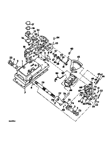 1066 International Tractor Parts Diagram